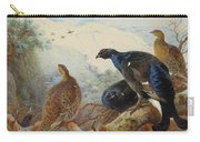Black Grouse And Gamebirds By Thorburn Carry-all Pouch