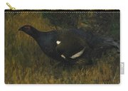 Black Grouse Cock Carry-all Pouch