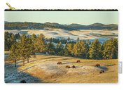 Black Hills Bison Before Sunset Carry-all Pouch