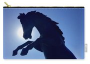 Black Horse Carry-all Pouch