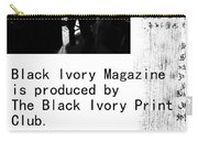 Black Ivory Issue 1 Page 2 Carry-all Pouch
