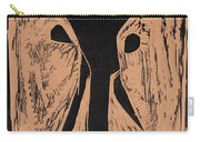Black Ivory Issue 1 Woodcut Carry-all Pouch