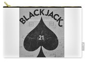 Black Jack  Carry-all Pouch