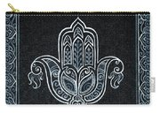 Black Khamsa Carry-all Pouch
