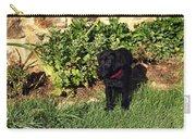 Black Labrador Retriever Puppy Carry-all Pouch