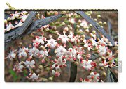 Black Lace Elderberry With Raindrops Carry-all Pouch