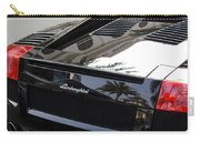 Black Lamborghini Sports Car  Carry-all Pouch