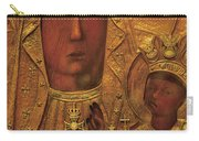 Black Madonna Carry-all Pouch