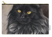 Black Maine Coon Carry-all Pouch