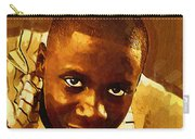 Young Black Male Teen 1 Carry-all Pouch
