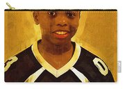 Young Black Male Teen 6 Carry-all Pouch