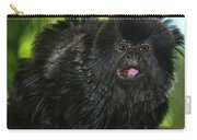 Black Marmoset Carry-all Pouch
