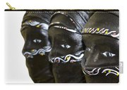 Black Masks Carry-all Pouch