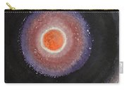 Black Moon Day Original Painting Carry-all Pouch