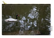 Black Neck Swan In Review Carry-all Pouch