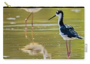 Black Necked Stilts  Carry-all Pouch