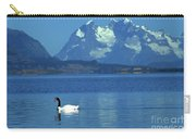 Black Necked Swan On Last Hope Sound Chile Carry-all Pouch