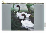 Black Necked Swans Carry-all Pouch