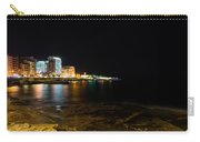 Black Night Bright Lights - Sliema Famous Waterfront Carry-all Pouch