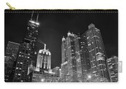 Black Night In The Windy City Carry-all Pouch