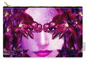 Black Orchid Eyes Carry-all Pouch