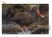 Black Oyster Catcher Carry-all Pouch