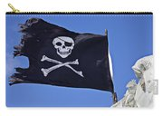 Black Pirate Flag  Carry-all Pouch