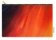 Black-red-yellow Abstract Carry-all Pouch