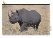 Black Rhino On The Masai Mara Carry-all Pouch