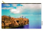 Black Rocks In Summer Carry-all Pouch