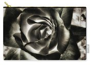 Black Rose. Symbol Of Farewells Carry-all Pouch