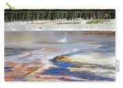 Black Sand Basin Geysers In Yellowstone National Park Carry-all Pouch