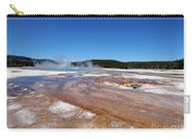 Black Sand Basin In Yellowstone National Park Carry-all Pouch