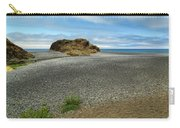 Black Sand Beach On The Lost Coast Carry-all Pouch
