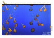 Black Sea Nettle Jellyfish - Monterey Carry-all Pouch