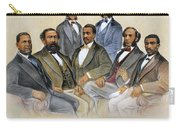 Black Senators, 1872 Carry-all Pouch