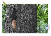 Black Squirrel With Blond Tail Two  Carry-all Pouch