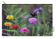 Black Swallowtail Butterfly In August  Carry-all Pouch