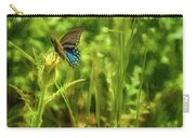 Black Swallowtail No. 2 Painterly Carry-all Pouch