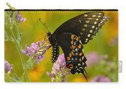 Black Swallowtail Carry-all Pouch by Robert Frederick