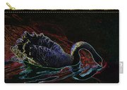 Black Swan In Color Carry-all Pouch