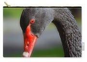 Black Swan Portrait Carry-all Pouch