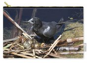 Black Tern On Nest Carry-all Pouch