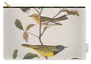 Black Throated Green Warbler Blackburnian Mourning Warbler Carry-all Pouch