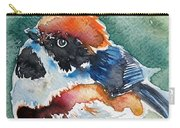 Black- Throated Tit Carry-all Pouch