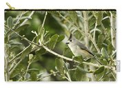 Black Titmouse Carry-all Pouch