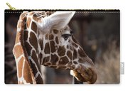 Black Tongue Of The Giraffe Carry-all Pouch
