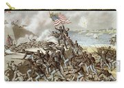 Black Troops Of The Fifty Fourth Massachusetts Regiment During The Assault Of Fort Wagner Carry-all Pouch