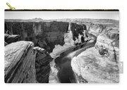 Black White Colorado River  Carry-all Pouch