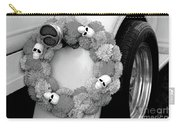 Black White Skulls Classic Car  Carry-all Pouch